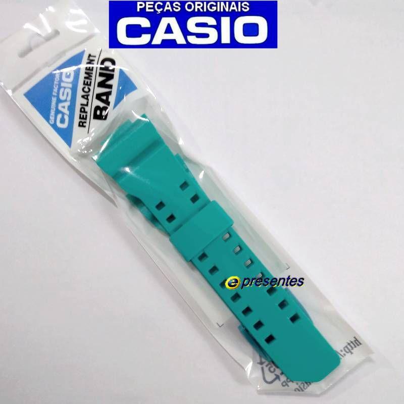 Pulseira + Bezel GA-400a-2a Casio G-Shock Verde Esmeralda  - E-Presentes