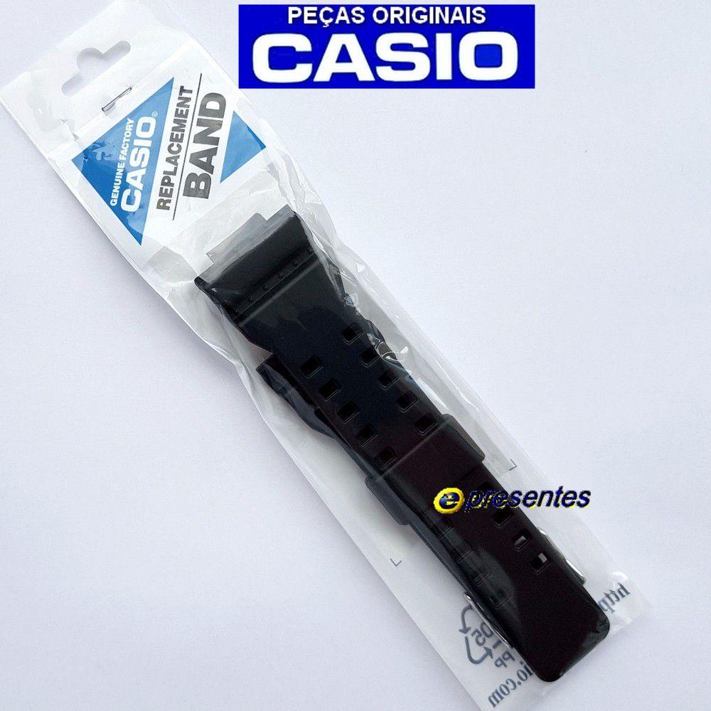 Pulseira + Bezel GA-710-1A Casio G-shock Preto Fosco -100% Original  - E-Presentes