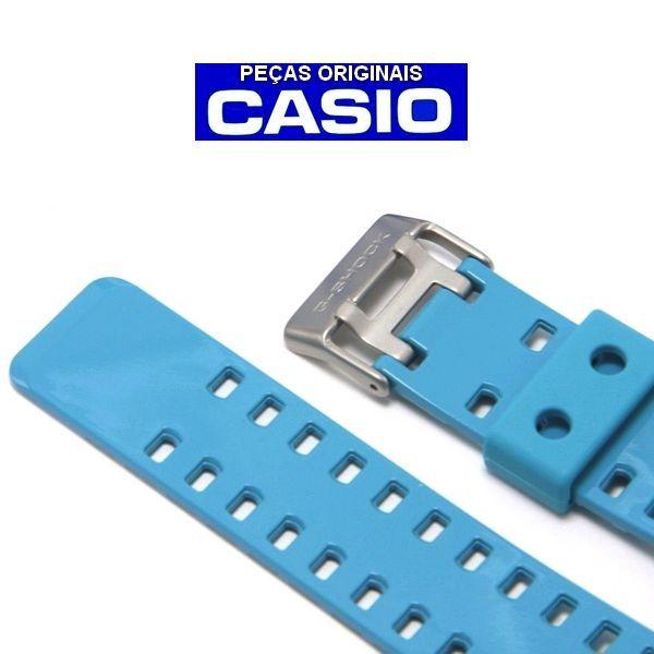 Pulseira+ bezel GD-110-2DR Casio G-Shock Azul Claro - Peças Originais  - E-Presentes