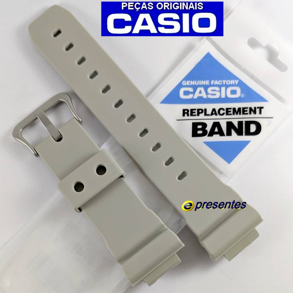 Pulseira + Bezel GW-M5610SD-8 Casio G-Shock Bege  - E-Presentes