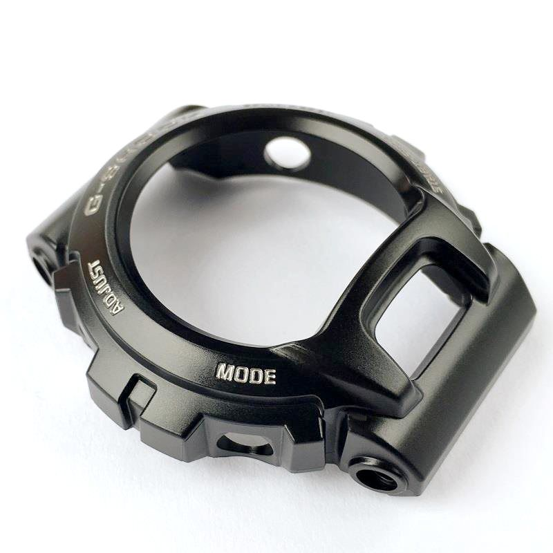 Pulseira + Bezel Originais GD-x6900-1 Casio G-Shock Preto Semi brilhante.  - E-Presentes