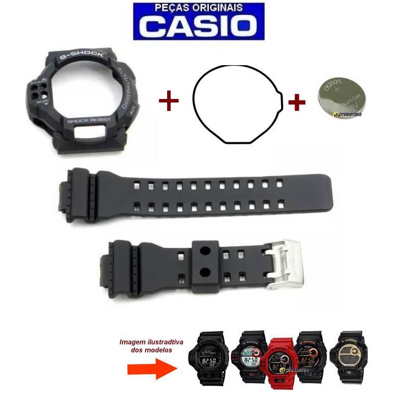 Pulseira + Bezel + Vedação + Bateria GDF-100-1a Casio G-shock  - E-Presentes