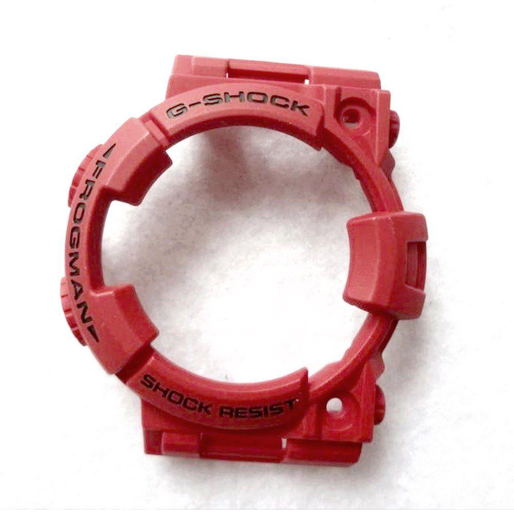 Pulseira + Bezel Vermelhos GWF-1000RD-4 Casio G-Shock   - E-Presentes