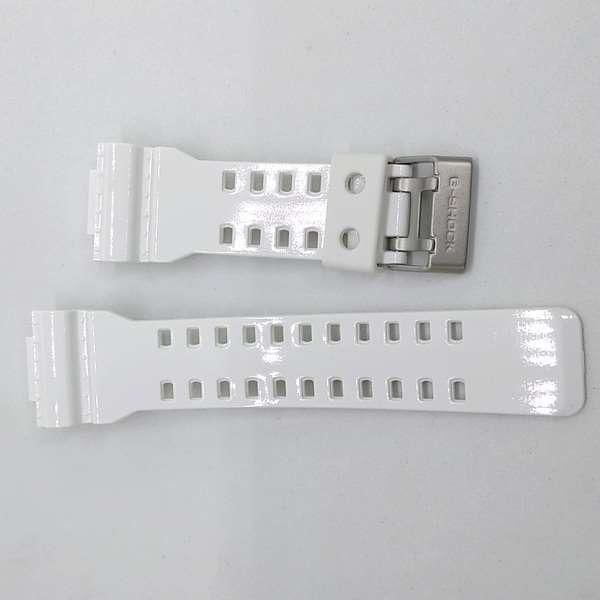 Pulseira Branca Brilhante Casio G-shock G-8900A-7 GA-100A-7A GR-8900A-7 GW-8900A-7 *  - E-Presentes