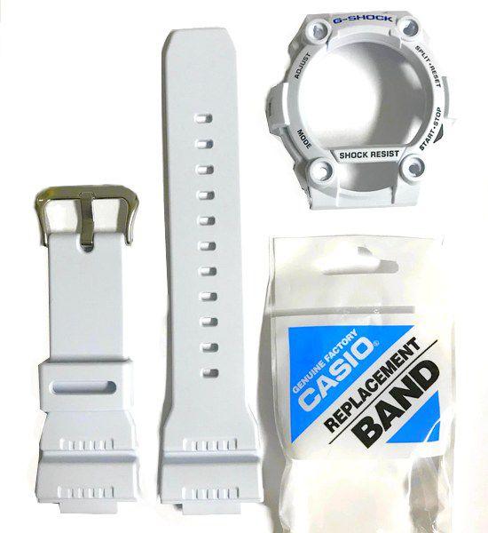 Pulseira + Capa Bezel G-7900a-7 Branco Casio G-shock- 100% Original  - E-Presentes