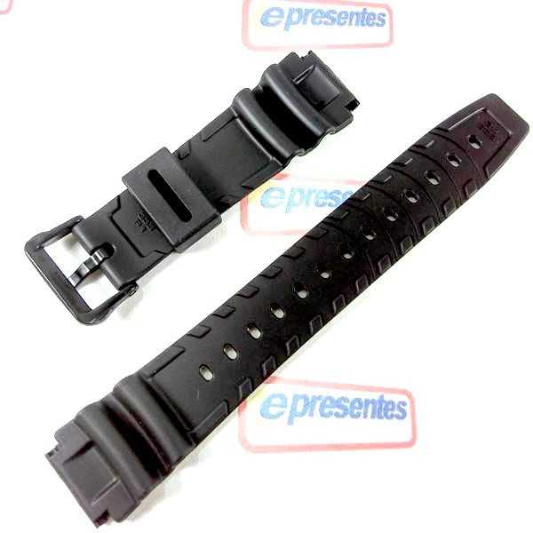 Pulseira Casio 100%original Dw-340 Ad-300 Aw-506 24/19mm  - E-Presentes