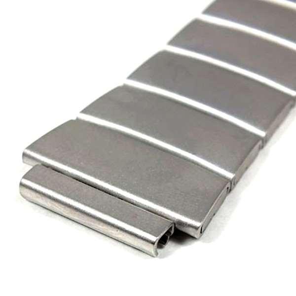 Pulseira Casio Aço Inox Fosco  DB-37HD - 100% Original (17mm)  - E-Presentes