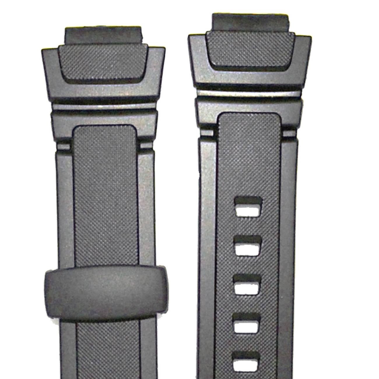 Pulseira Casio  Aq-180w / W-213 100% Original Resina Preta (14mm/22mm)*  - E-Presentes