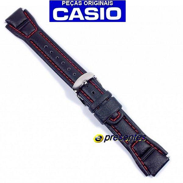 Pulseira Casio AQF-102WL-4BV Couro Marrom -  100% Original  - E-Presentes