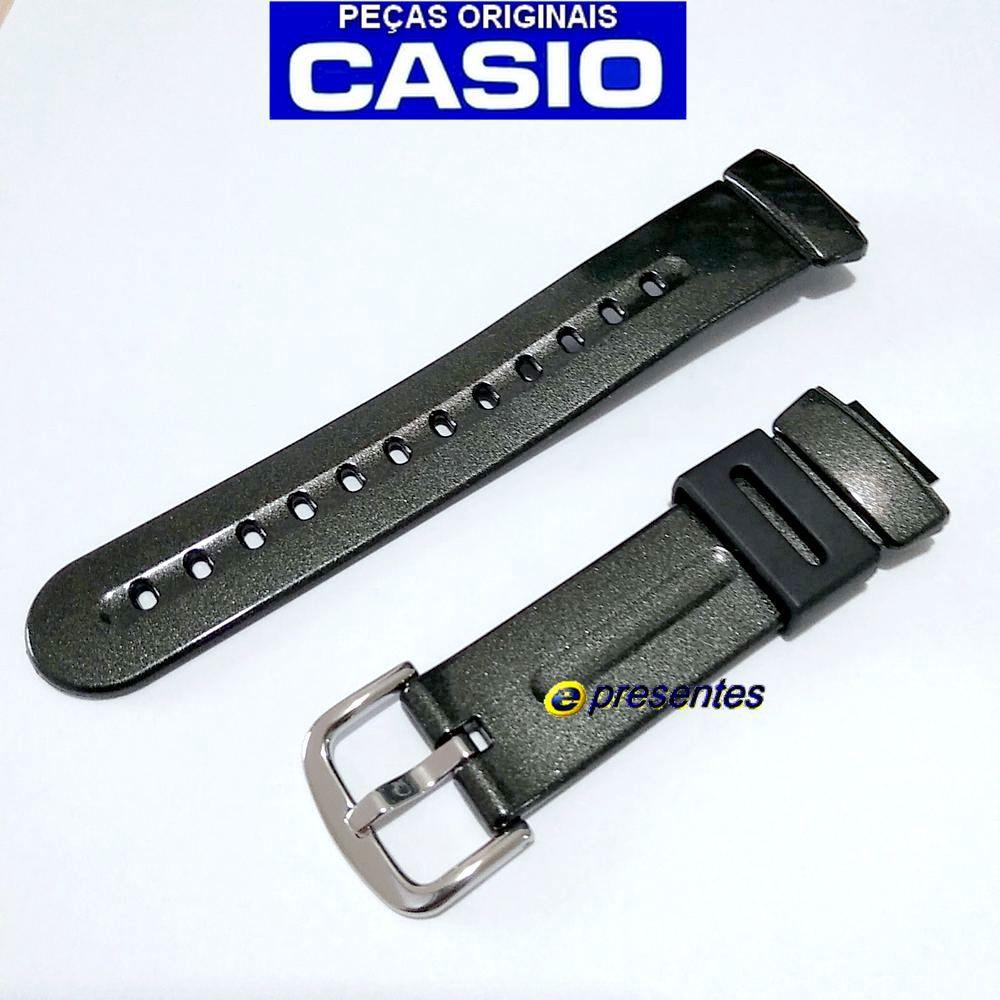 Pulseira Casio Baby-G BG-1006SA-1 Preto Perolizado - 100% Original  - E-Presentes