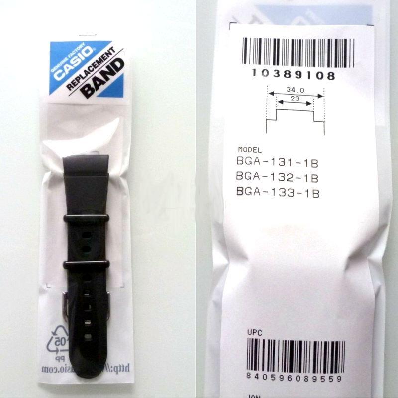 Pulseira Casio Baby-G BGA-131, BGA-132, BGA-133 *  - E-Presentes