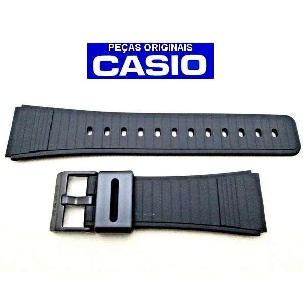 Pulseira Casio Databank  DBC-31, DBC-61, DBC-62,  DBC-80, CFX-40 , CBA-10 - 100% original  - Alexandre Venturini
