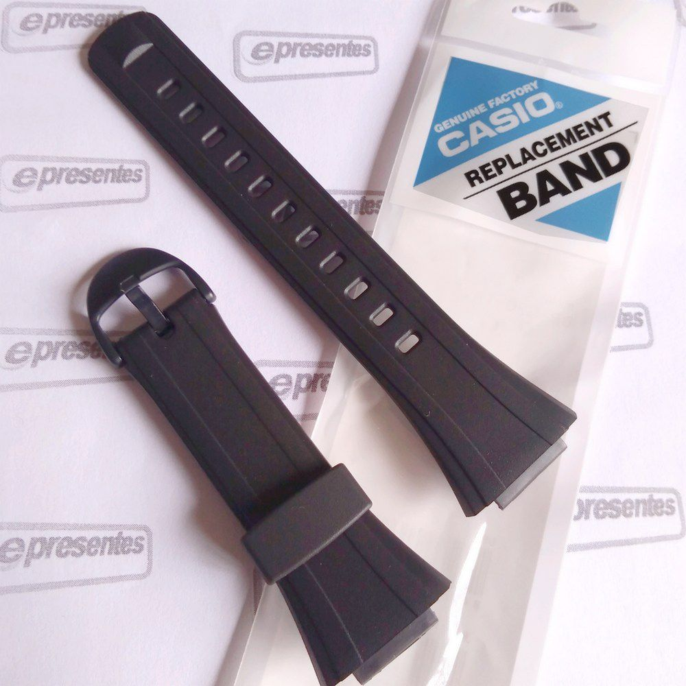 Pulseira Casio Db-E30 100% Original (27/16mm)  - E-Presentes