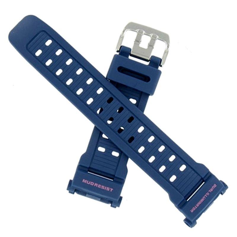 Pulseira Casio  G-9000mx-2  G-shock Mudman Resina Azul *  - E-Presentes