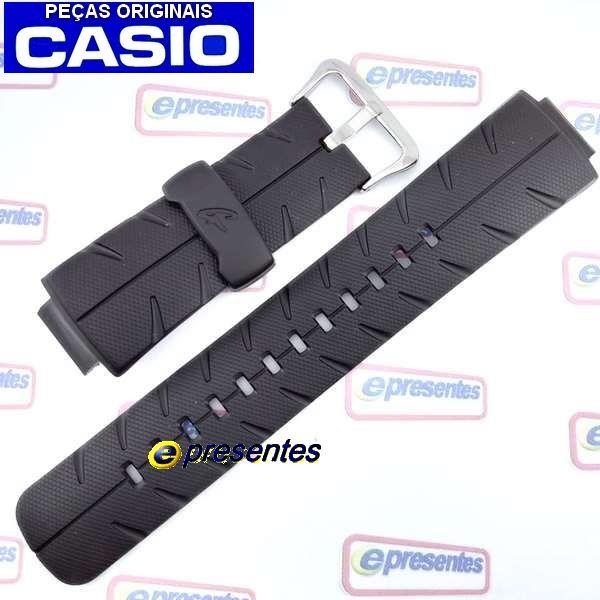 Pulseira Casio G-Shock 100% Original G-300 G-301 G-350 G306 *  - E-Presentes