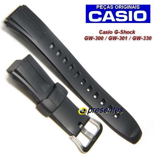 Pulseira Casio G-Shock 100% Original GW-300 GW-301 GW-330  - E-Presentes