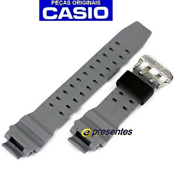 Pulseira Casio G-Shock Cinza GA-1000-8a - 100% autentica *  - E-Presentes