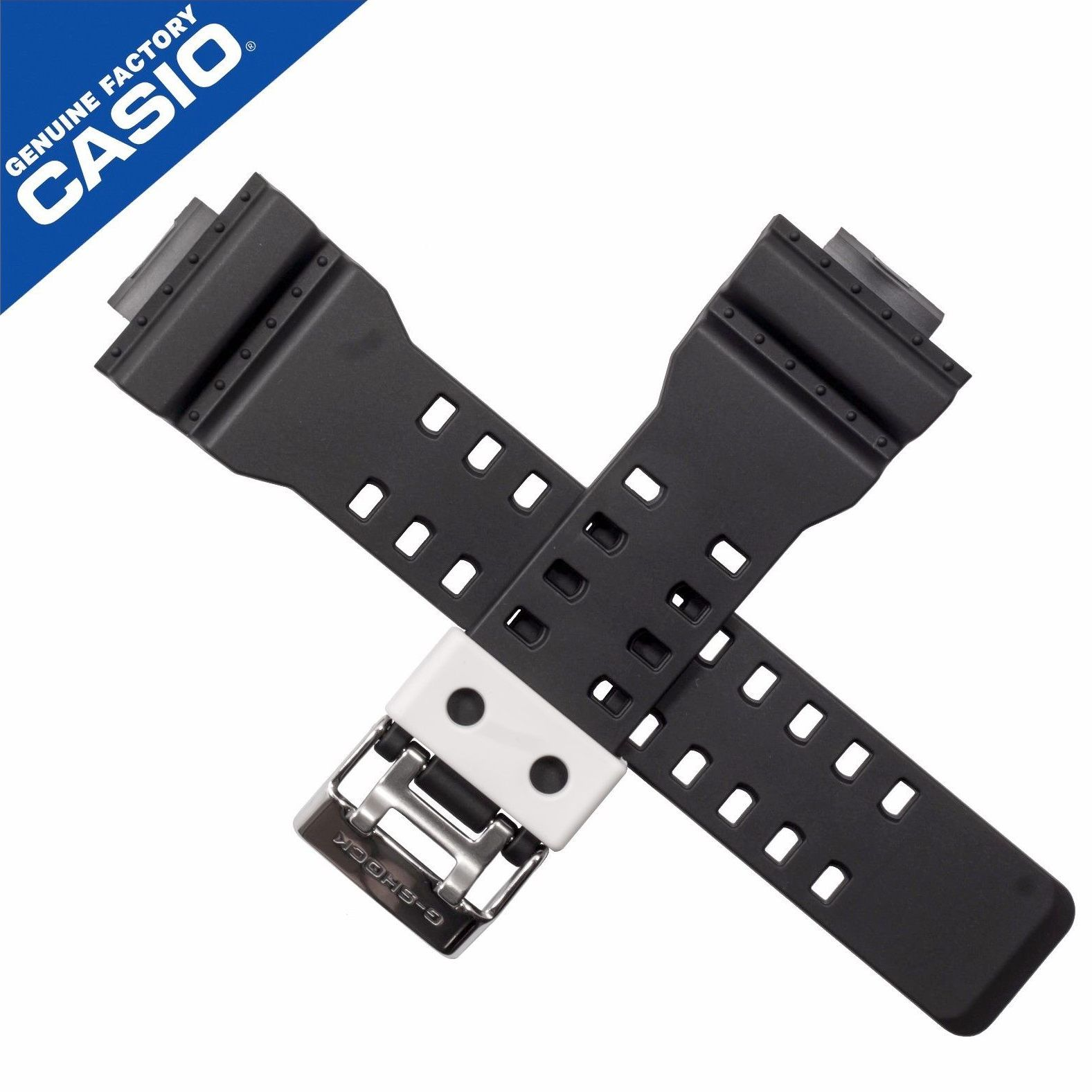Pulseira Casio G-shock 100% original GA-100BW-1A GA-110BW-1A *  - E-Presentes