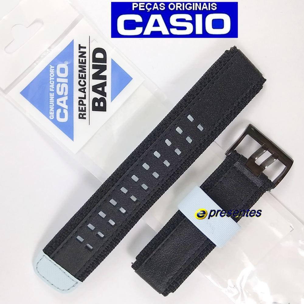 Pulseira Casio G-shock GDF-100BTN-1 Tecido e Couro / 100% Autêntica  - E-Presentes