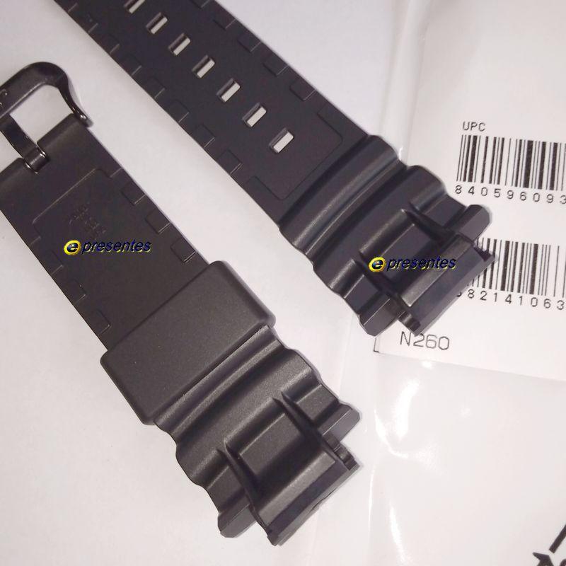 Pulseira Casio G-shock AWG-M100SBB, AW-591BB, AWG-M100BW Fivela Preta  - E-Presentes