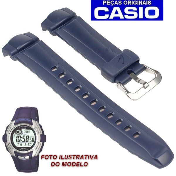 Pulseira Casio G-shock Azul G-7300 - 100% Original   - E-Presentes