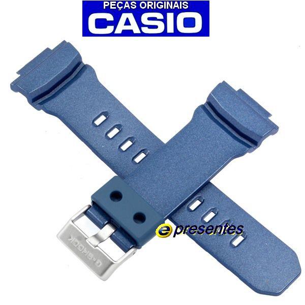 Pulseira Casio G-shock Azul GA-310-2A - Peça Genuína  - E-Presentes