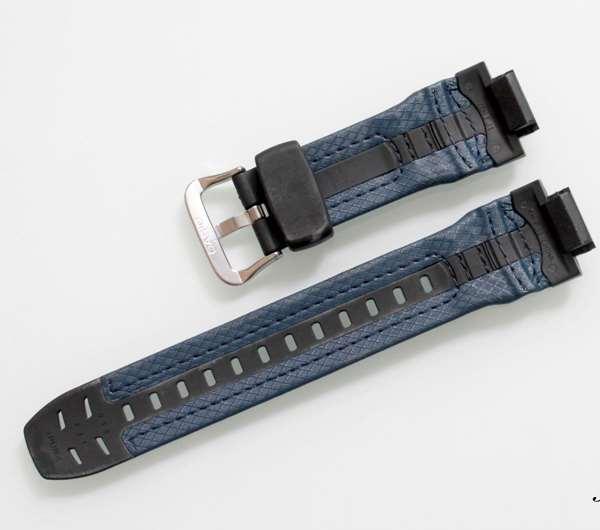 Pulseira Casio G-shock Azul  Resina e Couro G-315RL-2a  - E-Presentes