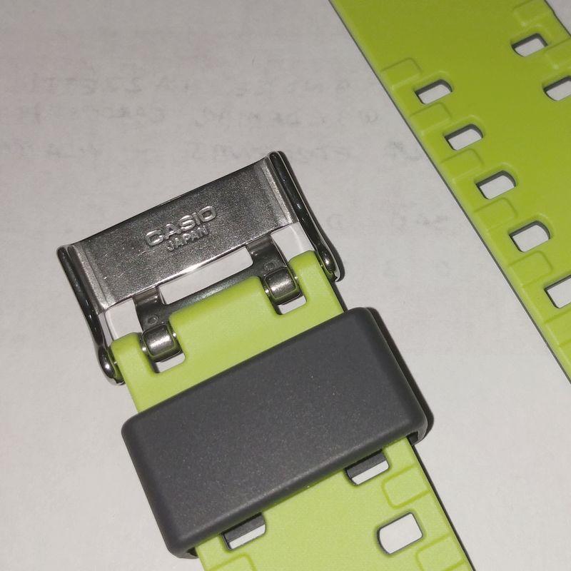 Pulseira Casio G-Shock Cinza/Verde  GA-110LN-8A *  - E-Presentes