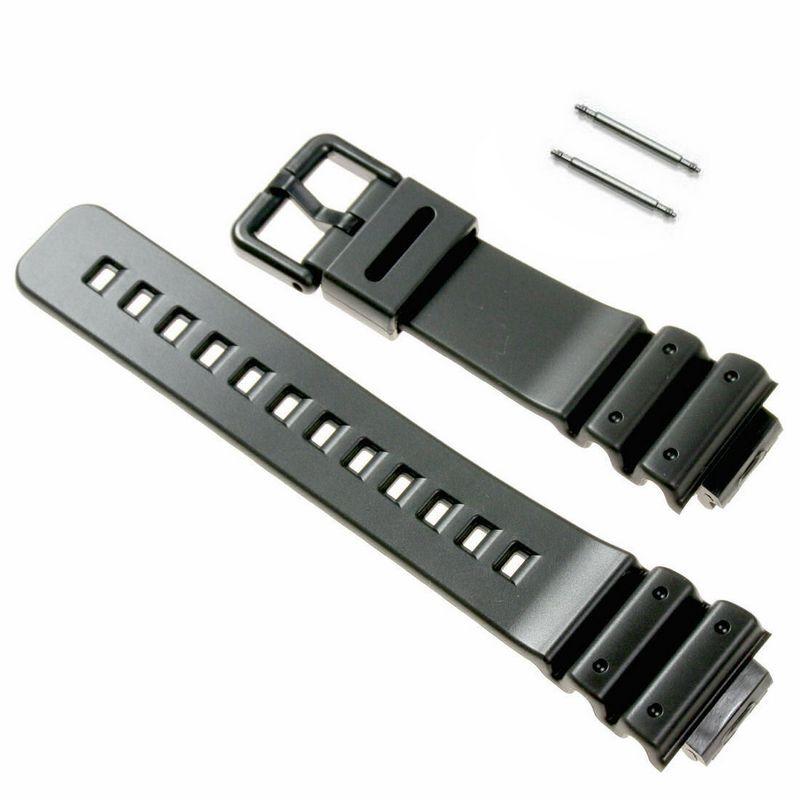 Pulseira Casio G-Shock  DW-6900 / DW-6900g + Par Pinos Retrateis Aço Inox  - E-Presentes