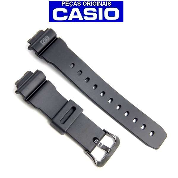 Pulseira Casio G-shock DW-6900MS-1  Preto Fosco Estilo Militar  - E-Presentes