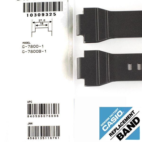 Pulseira Casio G-Shock G-7800 / G-7800b - 100% Original  - Alexandre Venturini