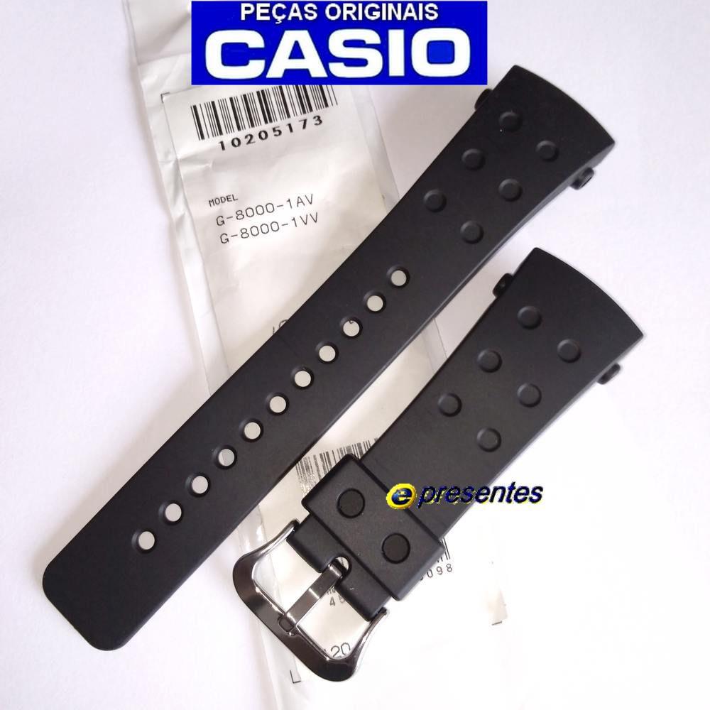 Pulseira Casio G-Shock G-8000-1 -  Peça 100% Original *  - E-Presentes