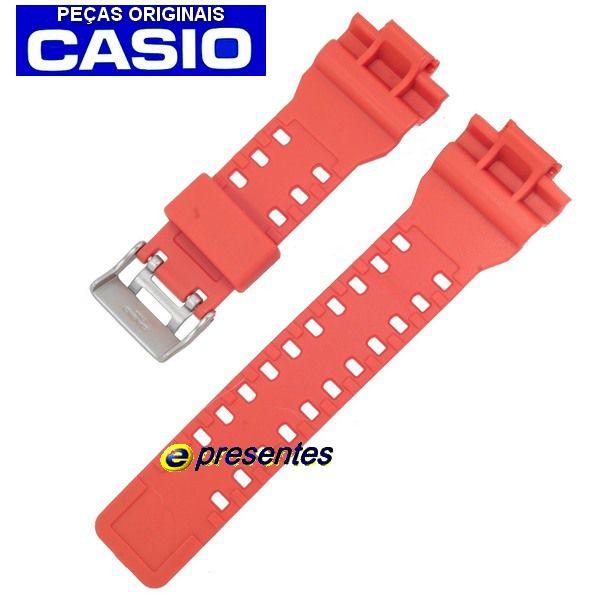 Pulseira Casio G-Shock G-8900A-4 Laranja * Peça genuina  - E-Presentes