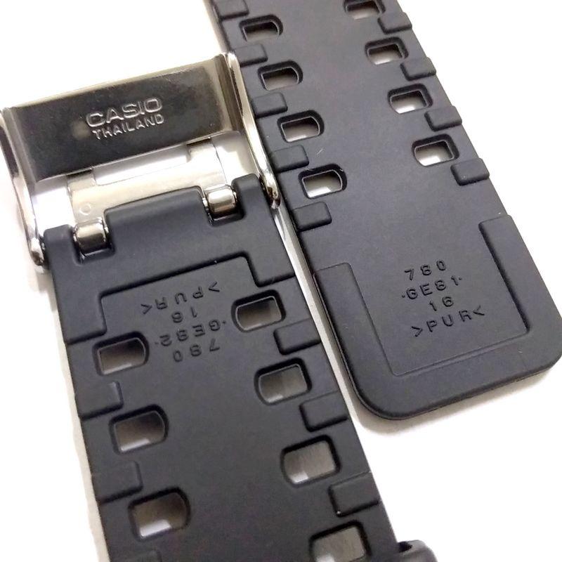 Pulseira Casio G-shock Ga-100CB GA-100CF-1a GA-100cf-1a9 GA-100LY GA-110CB GA-110LY GLS-8900-1 Preto Semi Brilhante *  - E-Presentes