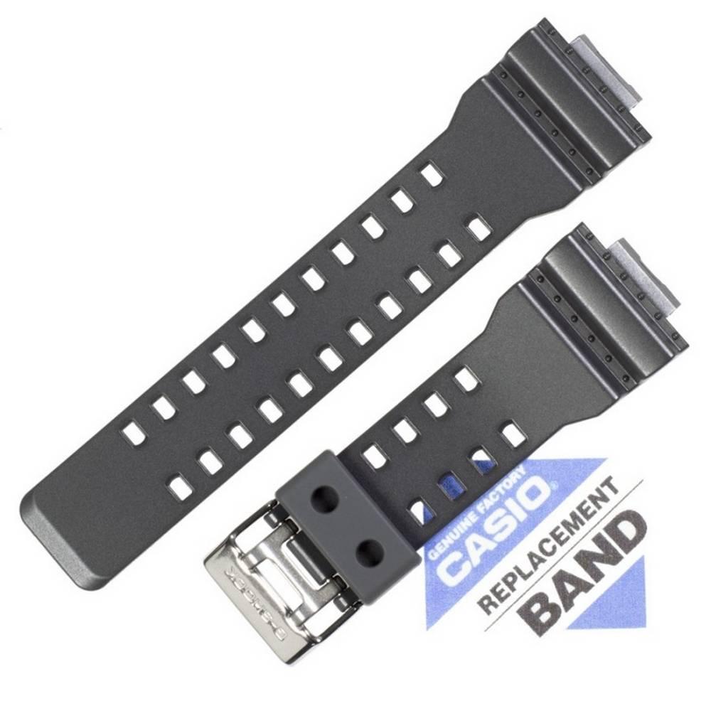 Pulseira Casio G-shock GA-100CF-8A Resina Cinza Escuro *  - E-Presentes