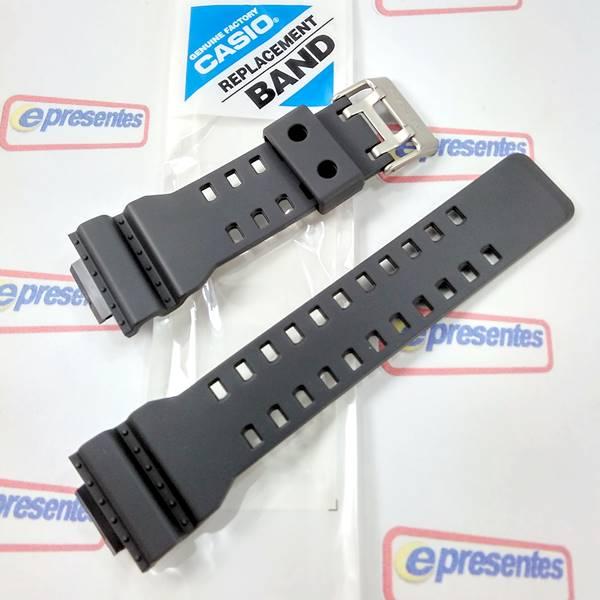 Pulseira Casio G-shock Ga-110c-1a Cinza Grafite 100%original  - E-Presentes