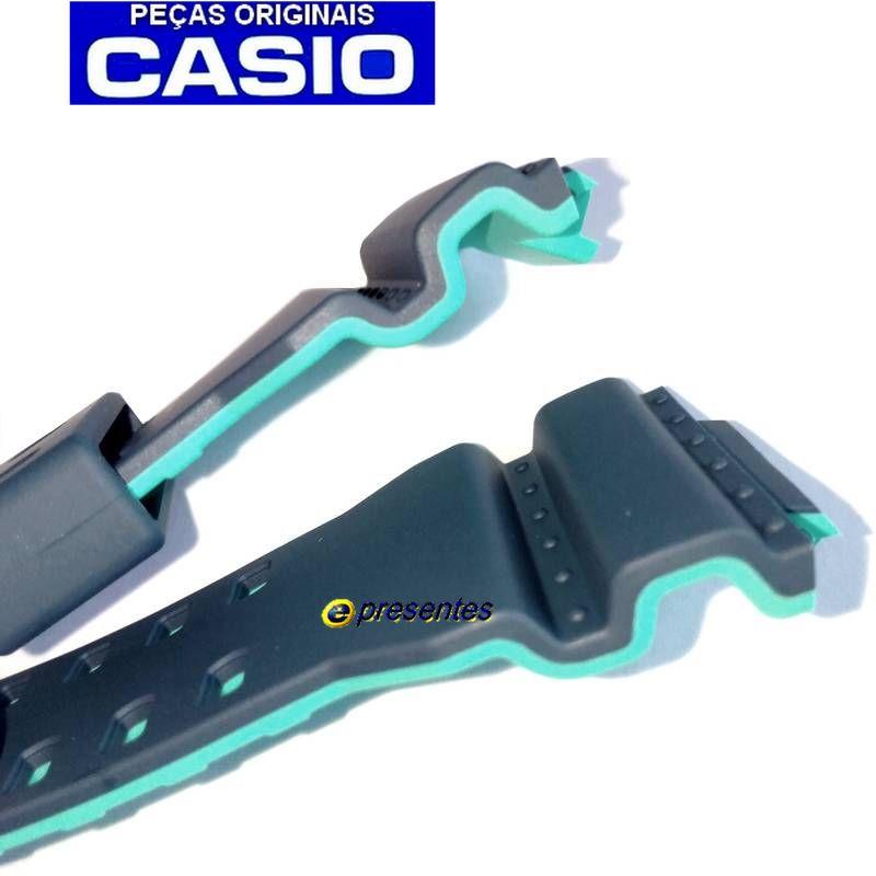 Pulseira Casio G-shock GA-110cc-2a  GA-400cc-2a Azul/Verde  - E-Presentes