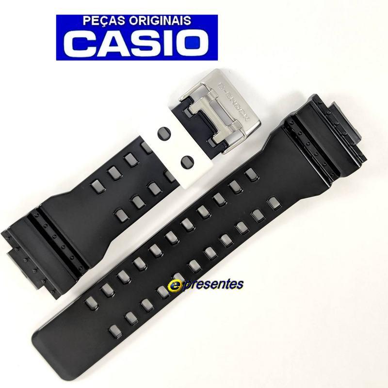 Pulseira Casio G-shock GA-110RD-4A Preto Brilhante  - E-Presentes