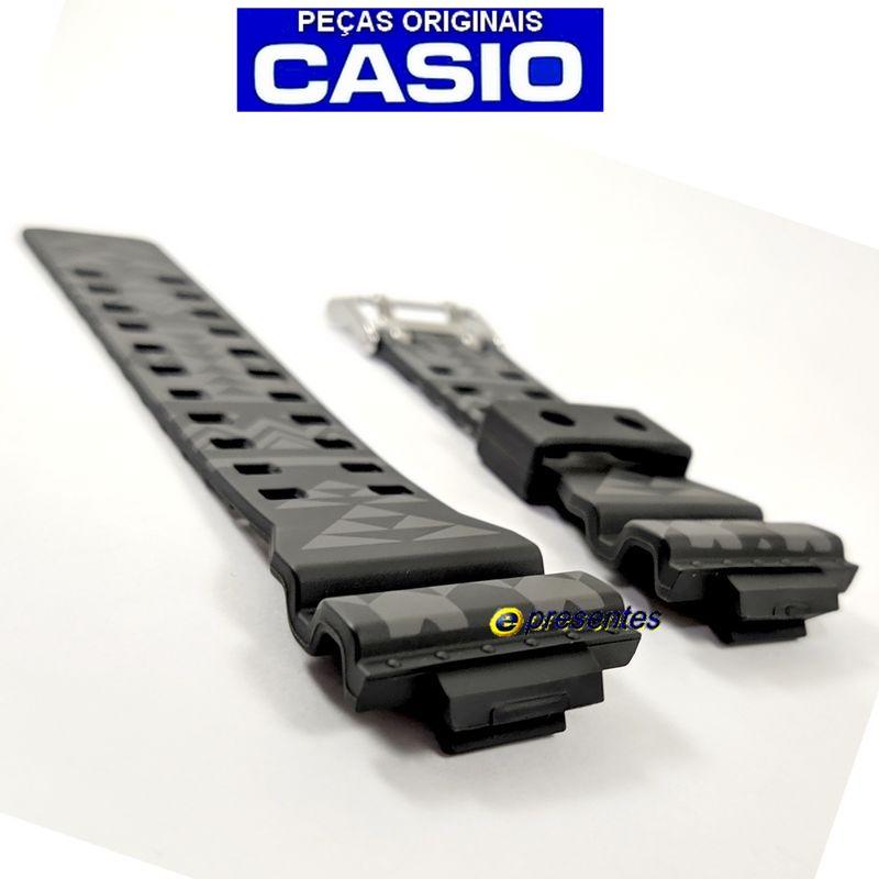 Pulseira Casio G-shock GA-110TP-1A Preto / GRAFITE TRIBAL   - E-Presentes