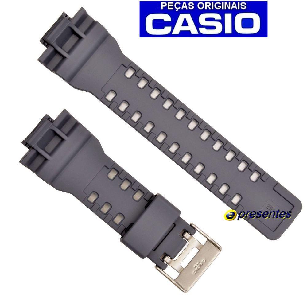 Pulseira Casio G-shock GA-110TS-8A2 Cinza   - E-Presentes