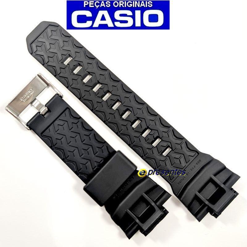Pulseira Casio G-shock GA-201BA-1A Preto verniz  - E-Presentes