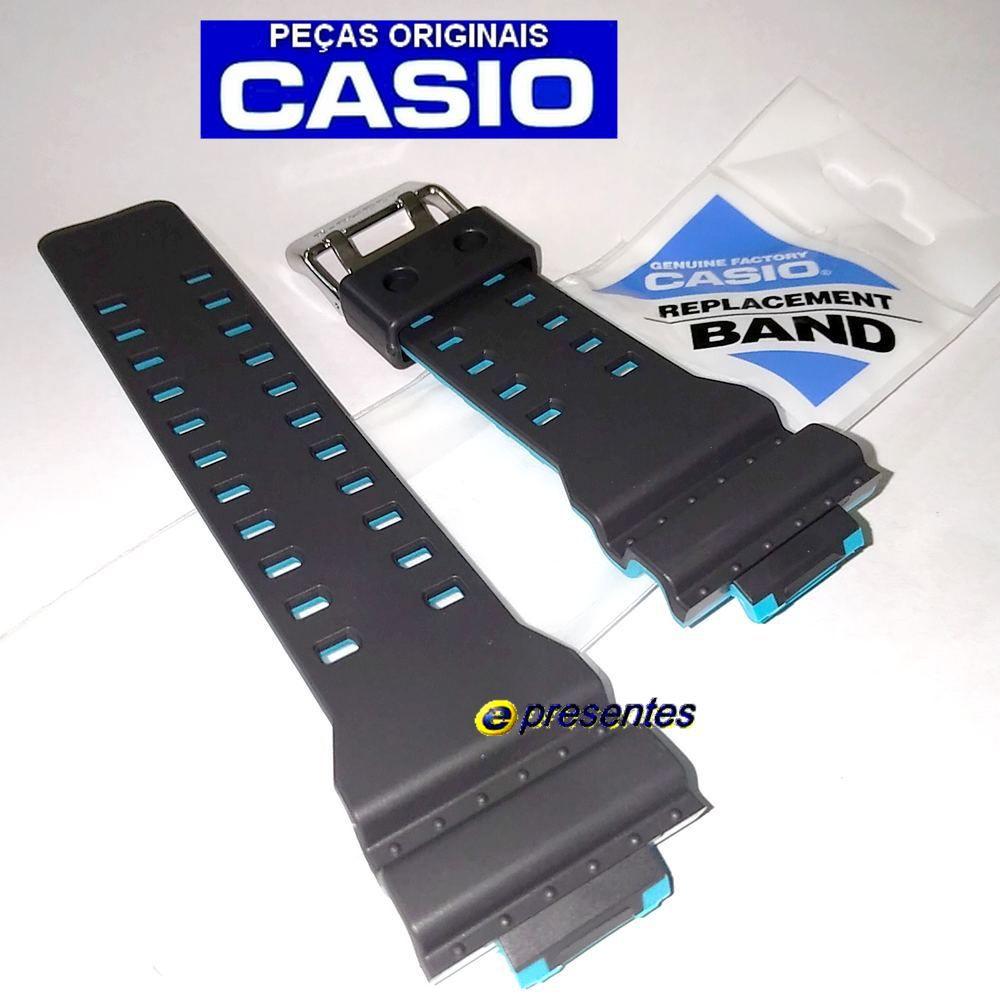 Pulseira Casio G-shock GA-700SE-1A2 Cinza e Azul - Peça 100% Original  - E-Presentes