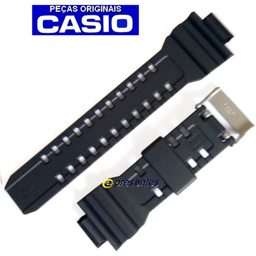 Pulseira Casio G-shock GD-350-1 Preto Fosco - 100% Original *  - E-Presentes