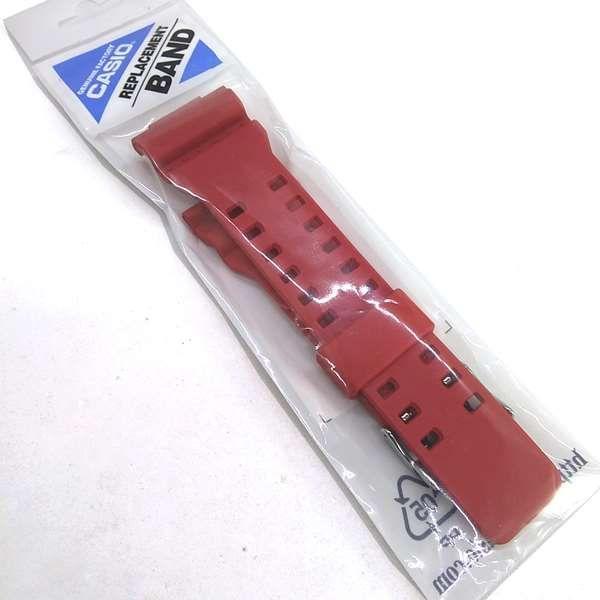 Pulseira Casio G-shock GDF-100-4 VERMELHO - 100% OriginaL  - E-Presentes