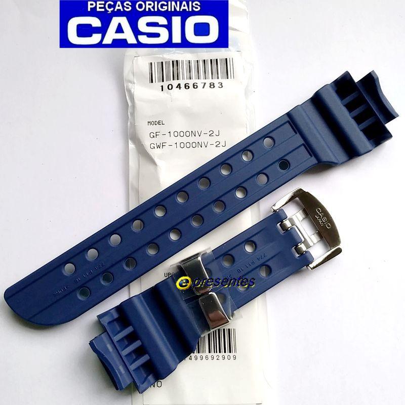 Pulseira Casio G-Shock GF-1000NV-2 E GWF-1000NV-2 Azul Escuro fosco  - E-Presentes