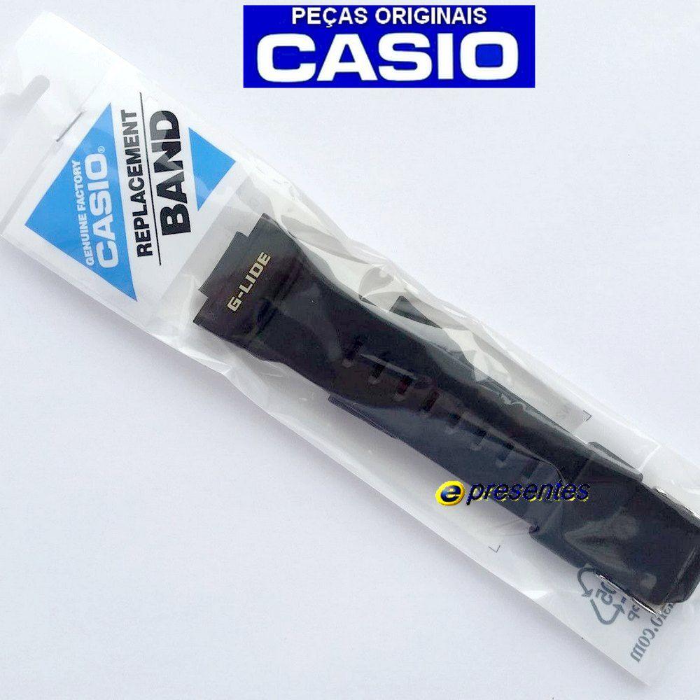 Pulseira Casio G-Shock GLX-150  G-lide Preto Fosco  - E-Presentes