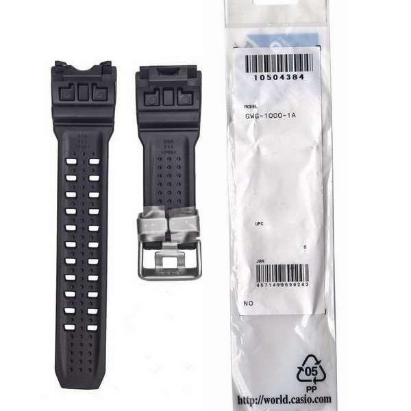 Pulseira Casio G-Shock GWG-1000-1A + 4 Parafusos Fixação Originais  - E-Presentes