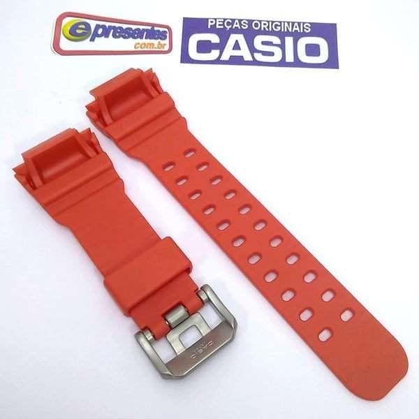 Pulseira Casio G-shock Laranja GX-56-4, GXW-56-4 100%original  - E-Presentes