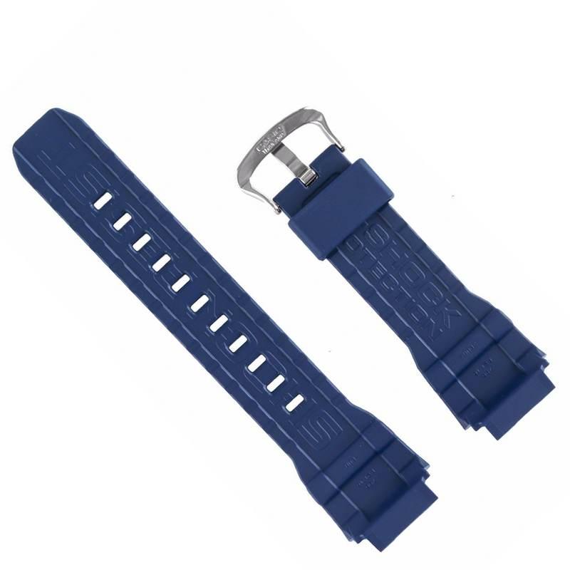 Pulseira Casio G-shock Mudman G-9300NV-2 Resina Azul Escuro Fivela Aço inox *  - E-Presentes