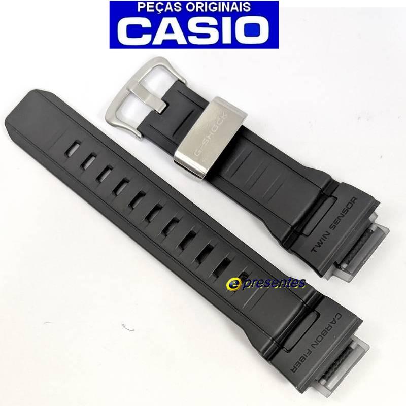 Pulseira Fibra Carbono GW-9300GY-1 Casio G-shock Mudman Cinza  - E-Presentes